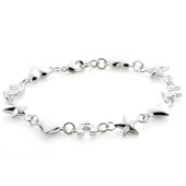 Mini Star Heart Horseshoe Bracelet