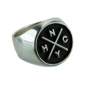 NYHC Ring Silver 3