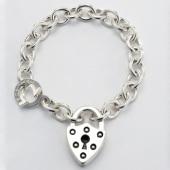Shield Lock Bracelet