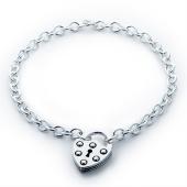 Shield Lock Necklace