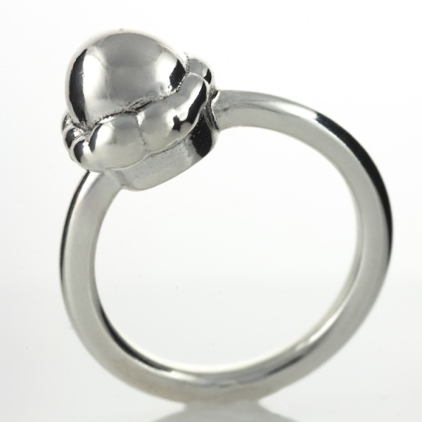 Sterling Silver Scoop Ring 2