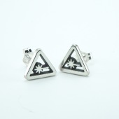 Nerdist open earrings